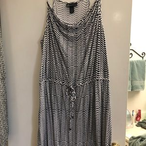 Lane Bryant midi dress